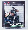 33 McFarlane toys NFL series rale Wilson / Seattle Seahawks