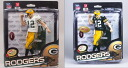 In stock now! 2 NFL figure series 34 / Collectors Club Limited Edition Aaron-Rogers green + regular white body set / Green Bay Packers / McFarlane