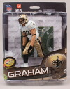 McFarlane toys NFL series Figure 34 and Jimmy Graham 1000 Limited Edition / New Orleans Saints