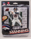NFL figure series 34 and Peyton Manning collector level 1500 body limited and Denver Broncos and McFarlane Toys