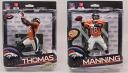 NFL figure series 34/US shop limited デマリアス Thomas & Peyton Manning 2 body set/Denver Broncos/McFarlane