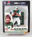 McFarlane toys NFL legend 2014/ Joe Ney trout / New York Jets