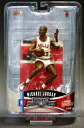 Company hates upper deck Michael Jordan 7-inch figures series 1 Cradle Dunk / white ver