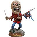 Iron Maiden Eddie The Trooper Head Knocker ☆ iron May den