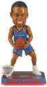 2014 forever, NBA bobblehead Springy Logo and Russell Westbrook and Oklahoma City Thunder.
