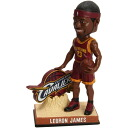2014 forever, NBA bobblehead Leaning Logo / LeBron James and Cleveland Cavaliers.