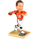 Forever company NFL ボブルヘッド /-limited news paper / Payton Manning / Denver Broncos
