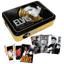 Elvis Presley Gold Playing Card Tin Set ☆ Elvis-Presley can trump card