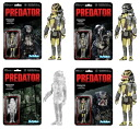 FUNKO Predator Retro Action figure 4 pieces set/predator.