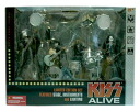 McFarlane toys MUSIC series /KISS ALIVE DX BOX SET