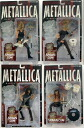 McFarlane MUSIC series /METALLICA 4 body set / Metallica HARVESTOR OF SORROW