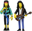 The Simpsons 25th Anniversary 5 inch PVC figure AEROSMITH Steven-Tyler & Joe Perry/the Simpsons 25th anniversary commemorative Aerosmith