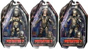 7 inches of 4 NECA predators figure skating series SET OF3(3 body sets)