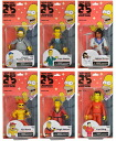 Six sets of the 25th anniversary of 5 inches of The Simpsons 25th Anniversary figure skating Series 1/ Simpson's
