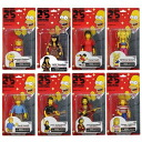 Eight sets of the 25th anniversary of 5 inches of The Simpsons 25th Anniversary figure skating Series 2/ Simpson's