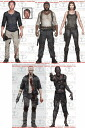 McFarlane toys walking dead TV series 5/THE WALKING DEAD SERIES/5 body set