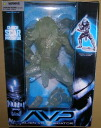 The McFarlane toys AVP/ alien vs. 12 inches of predator scar predator clear ver