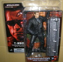 McFarlane Toys MOVIE series Terminator 3 T-850 with coffin / sunglasses without T3