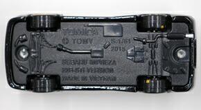 トミカプレミアム スバル インプレッサ 22B STiバージョン