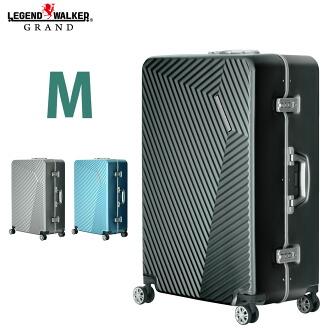 拉桿箱 行李箱 5,6,7天,M 超羽量級 TSA 鎖 8輪 金屬質感  5602-60