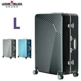 拉桿箱 手提箱 旅行包 滿足旅行至少一周 L 尺寸 超輕量 大體積 TSA 鎖 8輪 金屬質感 細框 5602-71