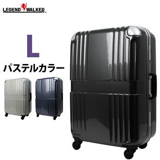 拉桿箱 行李箱 TSA 鎖 PC 100%樹脂鏡面加工  L 大小  7,8,9,10,11天,6020-68 6020-68