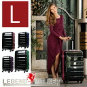 Suitcase lightweight large L size 1 year warranty SUITCASE (7-14 days) TSA lock equipped, polycarbonate 100% resin mirror finish suitcases, carry case, 7, 8, 9, 10, 11, SUITCASE 6016-70 travel bag