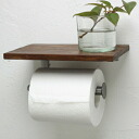 Wooden [HLS_DU] where toilet paper holder is stylish