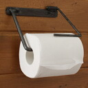Iron paper dispenser toilet paper holder