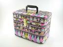 Debut extreme popularity / make box, closet hanger 33cm side black makeup case