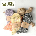 A HOPE HEMP natural socks (SHSX-007) (2013 spring/summer)