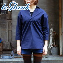 Le glazik skipper button L/S shirt (JL-3370 MIB)30%OFF!!