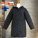 THE SMOCK SHOP wool quilted coat (women's) (SW SS-8250)