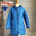THE SMOCK SHOP quilted long coat (women's) (PL SS-8250)
