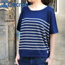 ORCIVAL ドルマンボーダーサマー linen knit Lady's (2014 spring/summer)