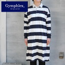 Gymphlex rugby shirt-dress (2014 )20%OFF!! in the spring and summer)