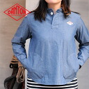 DAMTON round collar with a Pocket pullover shirt (women's) (JD-3408)