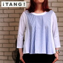 TANG natural soft tenjiku T shirt