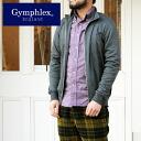 Gymphlex INTERLOCK スタンドカラージップ-up jacket ( J-1012PL ) 20 Sierra