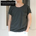 SCOTCH &SODA vintage 1 pocket T shirt (SC51168-31)