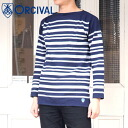 ORCIVAL Russell French sailor shirt ( RC01WN1952/6101 )