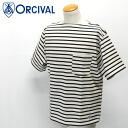 ORCIVAL cotton boat neck S/ST shirt ( RC-6833 )