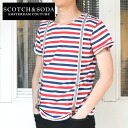 Horizontal stripe S/ST(SC51110-31) with the SCOTCH&SODA suspender
