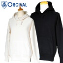 Orcival VINTAGE FRENCH TERRY プルオーバーパーカー (mens and Womens)