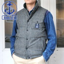 FIDELITY reversible down vest (wool/nylon) (9 f-01PTN-13)