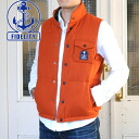 FIDELITY reversible down vest (wool/nylon) (9 f-01SD-13)