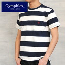 Gymphlex OPEN AND YARN border T shirt Men's ( 2014 spring/summer)