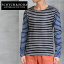 SCOTCH &SODA border crazy patterns l/s TEE