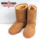 MEN's MINNETONKA shortsheepskinpag boots