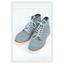 """RED WING 6 """"CLASSIC MOC STATE BLUE ABILENE ROUGHOUT ( 8413 )"""